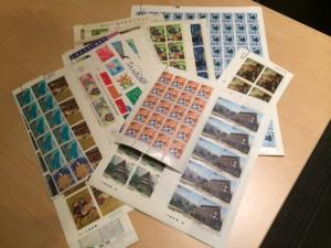 切手 シート