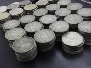 100円銀貨 大吉川越2