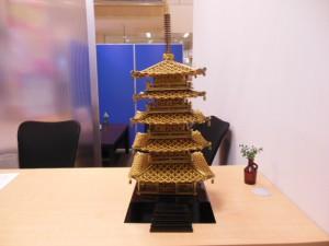 五重塔です。