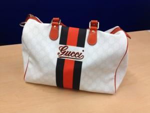 グッチのボストンバッグお買取致しました。