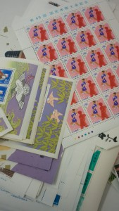 不要な切手をお買取り致します!大吉長崎屋小樽店☆