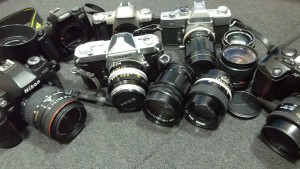 カメラ,レンズ、フィルムカメラ、デジタルカメラ