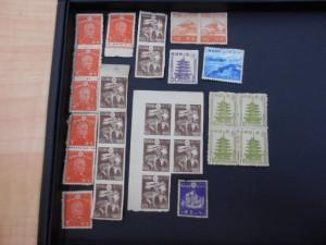 昔の切手をお買取り致しました。大吉あすみが丘ブランニューモール店です。
