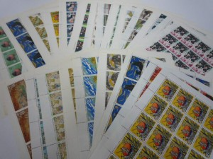 発掘!大量の切手が大吉ガーデンモール木津川店に持ち込まれました。