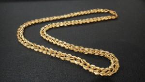 金のネックレスを買取致しました。買取専門店 大吉 松江店