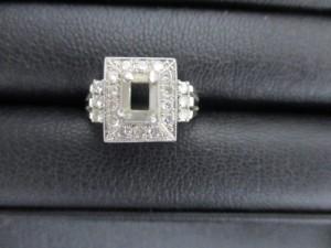 日野市豊田駅で 色石の取れた プラチナ ダイヤモンドリング の高価買取は大吉多摩平店です