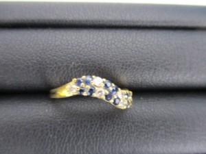 日野市で ダイヤ サファイヤ リング の高価買取は大吉多摩平店です