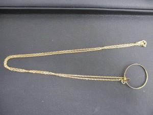 日野市で 18金 ネックレス の高価買取は大吉多摩平店です