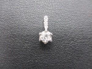 日野市豊田駅で プラチナ ダイヤモンドペンダントトップ の高価買取は大吉多摩平店です