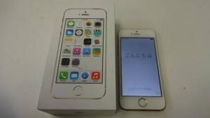 SoftBank ソフトバンク iPhone5S 16GB ゴールド