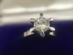 ダイヤモンドリングの買取は大吉アスモ大和郡山店にお任せ
