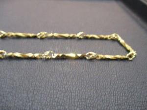 松江市の顧客から貴金属ネックレスを売却頂きました 大吉 松江店
