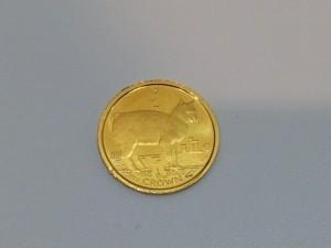 マン島キャットの金貨をお買取りしました。泉区の大吉 イオンタウン仙台泉大沢店