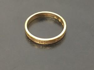 【貴金属】18金 指輪 リング