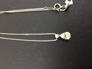 他店で安値のついたダイヤ査定します!大吉あすみが丘店