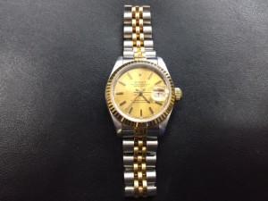 ロレックスの時計買取りました。福山市、大吉福山蔵王店です。