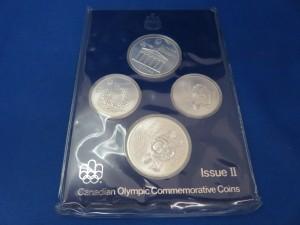 記念銀貨をお買取りさせて頂きました。