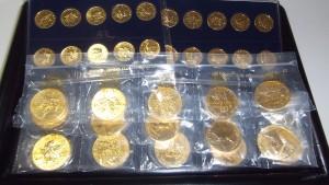 金貨,24金,メープルリーフ