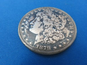 モルガン1ドル銀貨1878年 お買取りさせて頂きました。