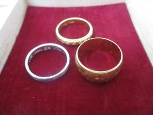 金の指輪 茅ヶ崎