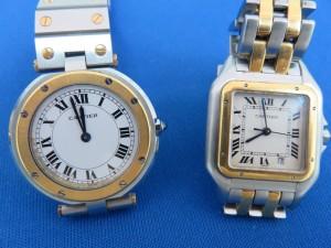 池田市のお客様よりカルティエの時計を買取致しました。大吉池田店です。