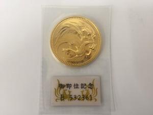 10万円金貨買取りました。福山市、大吉サファ福山店です。