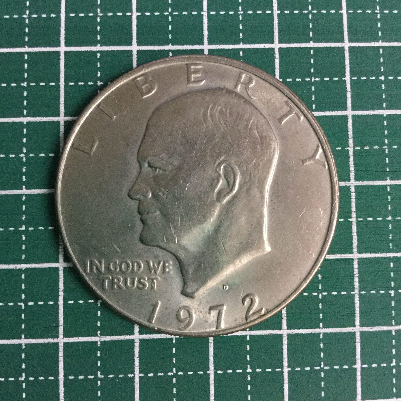 1972年 発行 アメリカ リバティ 1ドル コイン を 買い取りました!