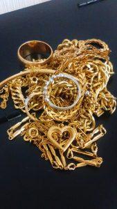 金 プラチナ 貴金属をお買取り致しました。 大吉川越店にお任せください!