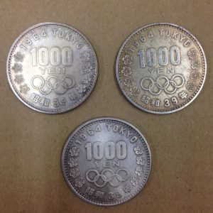 東京オリンピック硬貨の高価買取といえば成城学園前店です