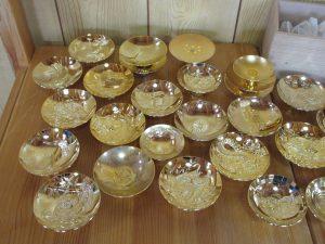 金杯,金メッキ,金