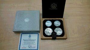 モントリオールオリンピック 記念メダルをお買取しました。大吉イオンタウン仙台泉大沢店です。