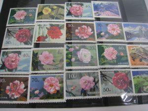 中国切手を茅ヶ崎にお住まいのお客様からお売りいただきました。