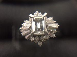 1ctダイヤモンド買取りました。福山市、大吉サファ福山店です。