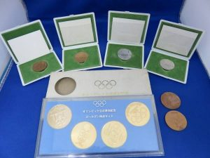 東京オリンピックメダルの買取は、池田市の大吉池田店