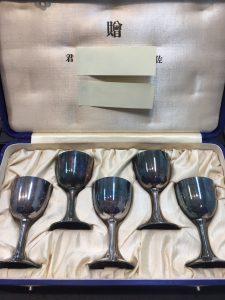 アンティーク銀杯を買取させて頂きました♪札幌市大吉円山公園店