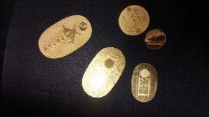 川越市のお客様から金プラチナをお買取りしました。 地域No.1高価買取宣言中!大吉 川越店です。