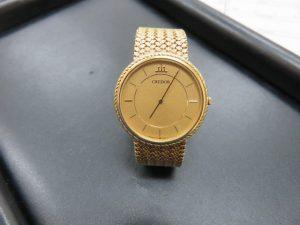 K18 セイコークレドール 紳士腕時計をお買取りさせて頂きました。