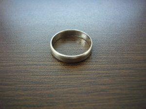 茅ヶ崎にお住まいのお客様よりプラチナの指輪を買取しました。地域No.1高価買取宣言中!