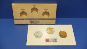 札幌冬季オリンピック記念メダル