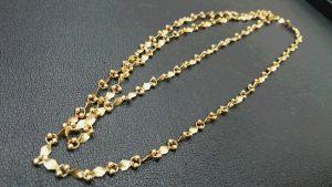古い18金ネックレスも高価買取いたします!買取専門店 大吉 イオンタウン仙台泉大沢店です。