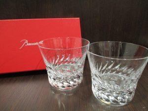 下曽根駅前、大吉サニーサイドモール小倉店  バカラのグラスをお買取り致しました!