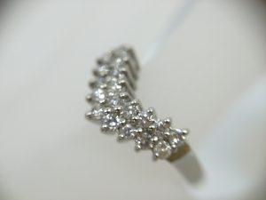 ブランド貴金属ダイヤモンド付リング