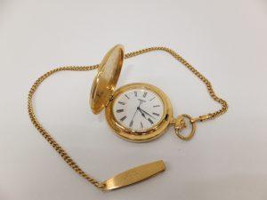 ブランド時計SEIKO金メッキ懐中時計