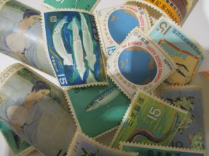 小倉南区、大吉サニーサイドモール小倉店で買取りました切手の画像です