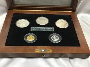 フランクリンミント社の記念メダル