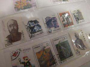 水戸市のお客様より中国切手をお買取しました!