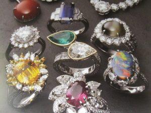 色石 Ring