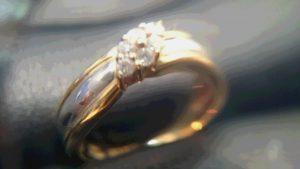 メレダイヤ付コンビリングをお買取しました。買取専門店 大吉 イオンタウン仙台泉大沢店です。