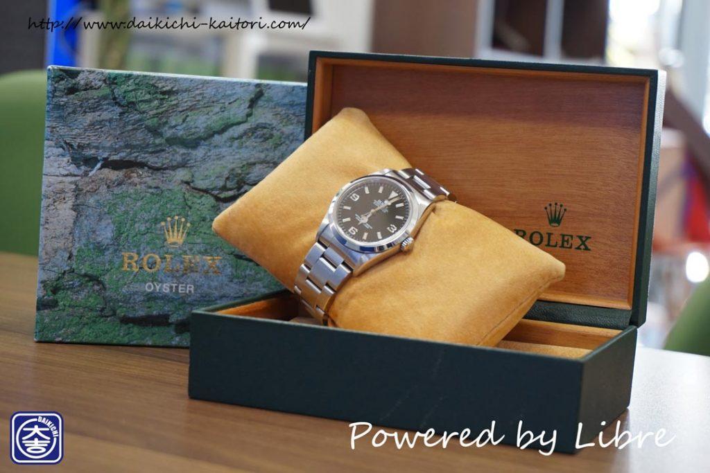 ロレックス ROLEX エクスプローラー1 14270 時計 買取 浜松市