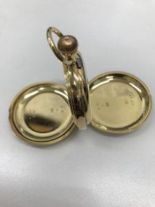 貴金属金無垢アンティーク懐中時計